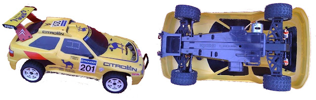 Kyosho Citroen ZX Dakar