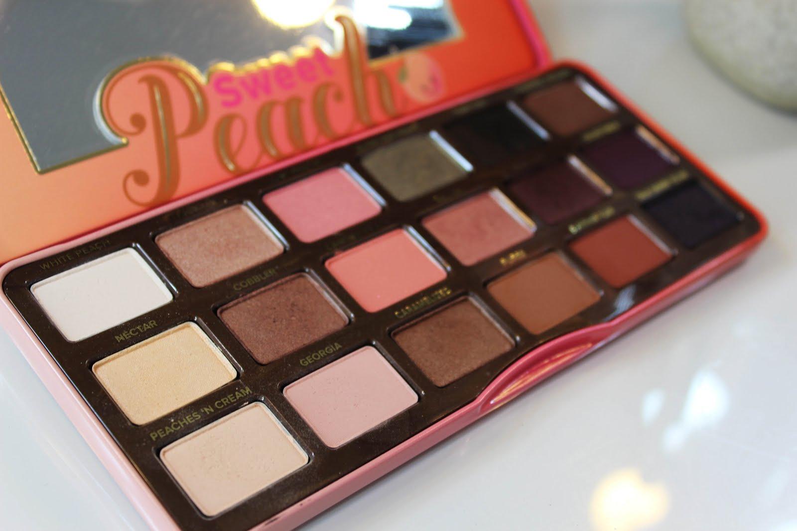 Too Faced: Paleta Sweet Peach
