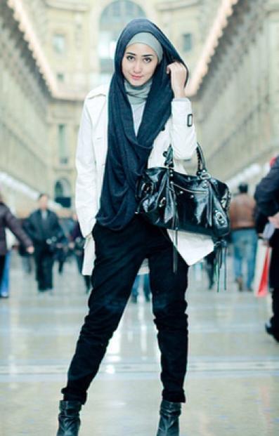 Inspirasi Model Busana Hijab Casual Dian Pelangi