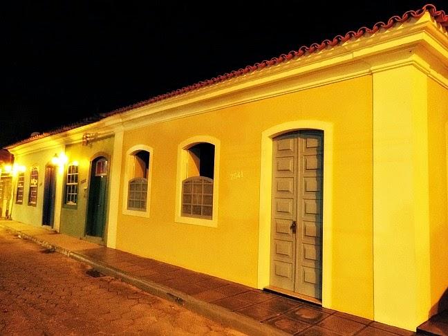 O colorido das casas de Ribeirão da Ilha, em Florianópolis