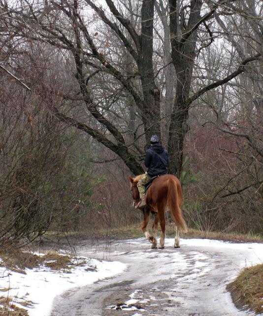 конная прогулка по Долобецкому острову
