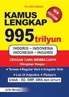 Kamus Lengkap 995 Trilyun Inggris >< Indonesia Index | Rp. 28.500,-