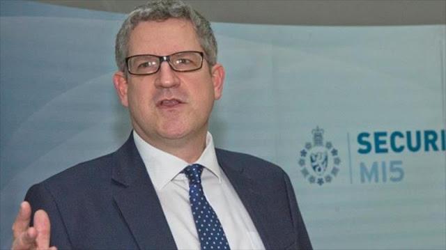 Jefe del MI5 alerta: Rusia supone creciente amenaza a Reino Unido