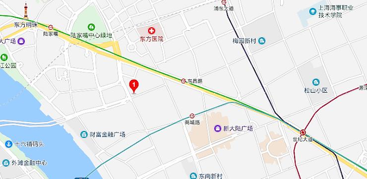 居酒屋「真弓」の地図