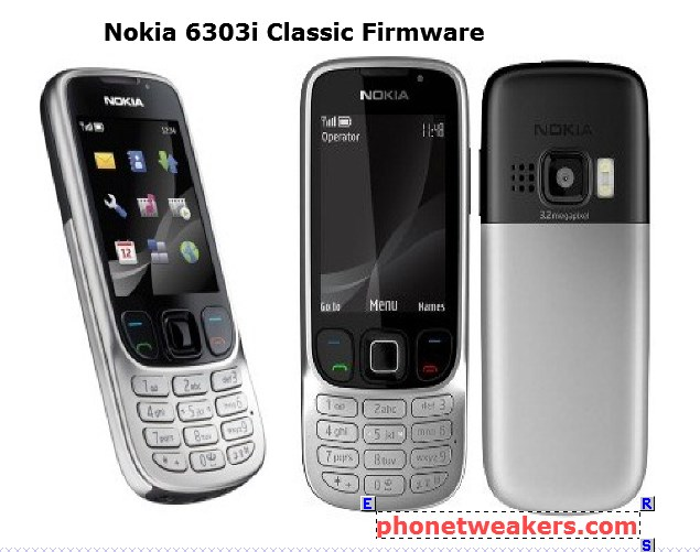 nokia 6303i classic latest firmware download phonetweakers. Black Bedroom Furniture Sets. Home Design Ideas