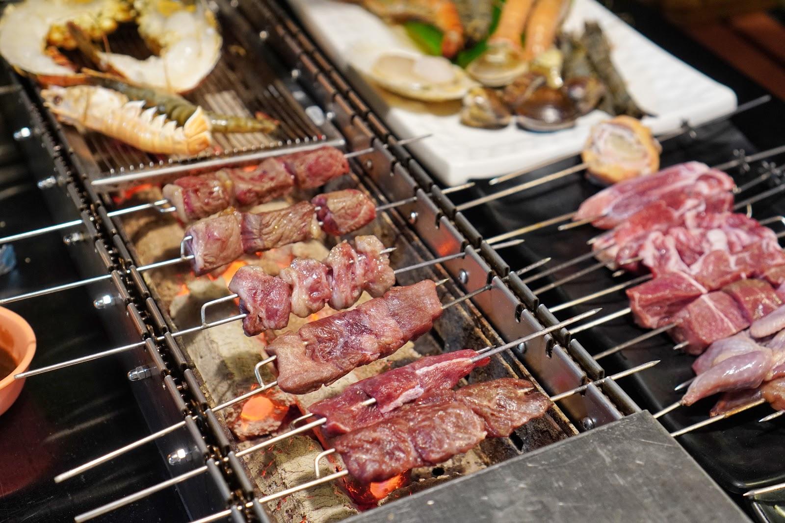 台南安平區美食【請上桌國際港灣】特腱板腱牛套餐