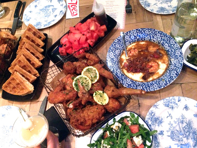 Dessert at Joe's Southern Kitchen - London restaurants - lifestyle blogger