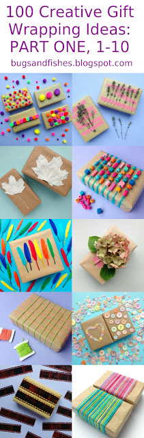 100 Gift Wrapping Ideas: Part One