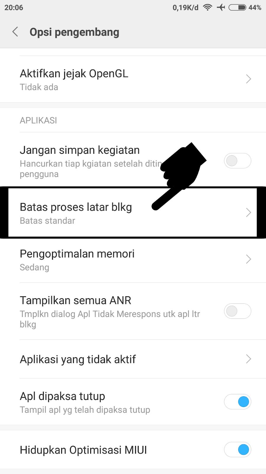Cara Menambah dan Mengoptimalkan Ram Xiaomi (Tanpa Root dan Aplikasi) - Dunia Tekno