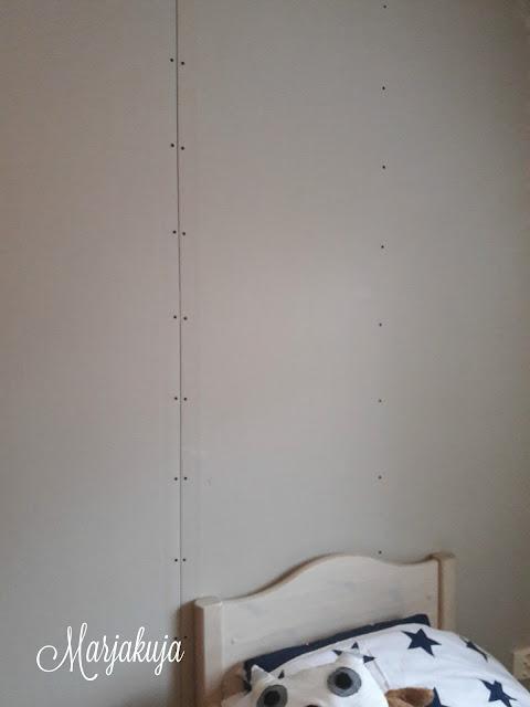 Seinat levytetty kipsilevylla
