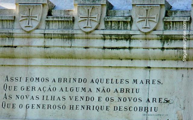 Portugal: monumento ao Infante D. Henrique na Cidade do Porto