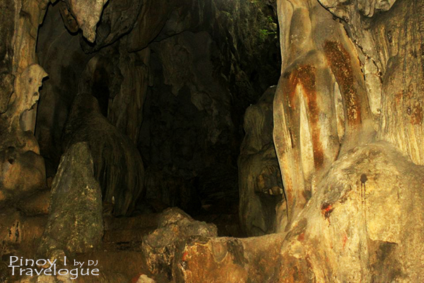 Interiors of Calinawan Cave