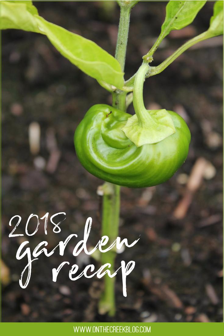 2018 Garden Recap!