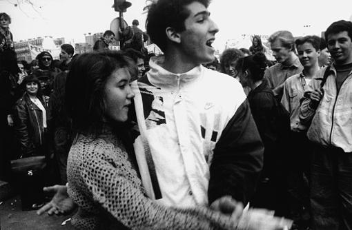 manifestation lycéenne 12 novembre 1990 lionel jospin casseurs émeute franck chevalier paris