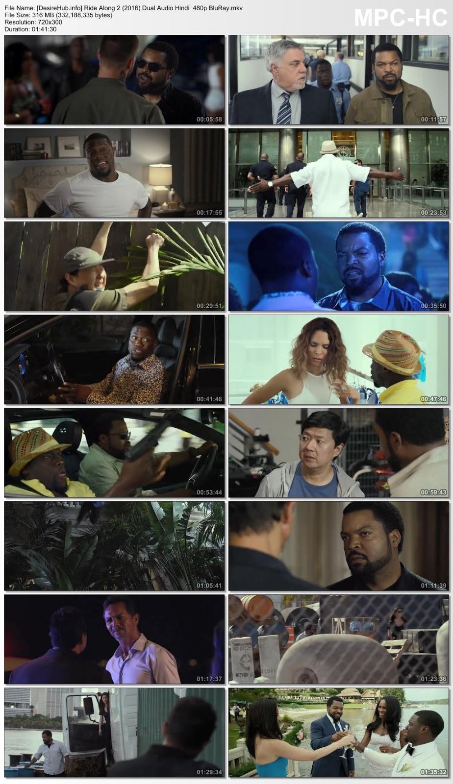 Ride Along 2 2016 Dual Audio Hindi 480p BluRay 300MB Desirehub