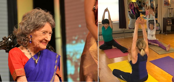 A 100-year-old yoga instructor has no plans to stop teaching: Recently She Receives Prestigious India's Padma Shri Award