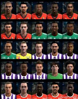 Faces: Aguilar, Allee, Braithwaite, Brandao, Chitu, Ciss, Doucoure, Eickmayer, F.Pohba, Houtondji, hunou, I.Sylla, K.rodrigues, Kerjean, M.Roman, M.Vidal, Masuaku, Moubandje, Polomat, S.Moreira, S.Romero, Soukouna, Spajic, T.Bakayoko, W.Said, Zouma pes 2013