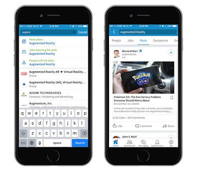 لينكد إن تطلق تحديثا جديدا لتطبيقها علي الهواتف الذكية مع ادوات جديدة