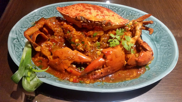 Fresh King Crab in Spicy Fragrant Sauce