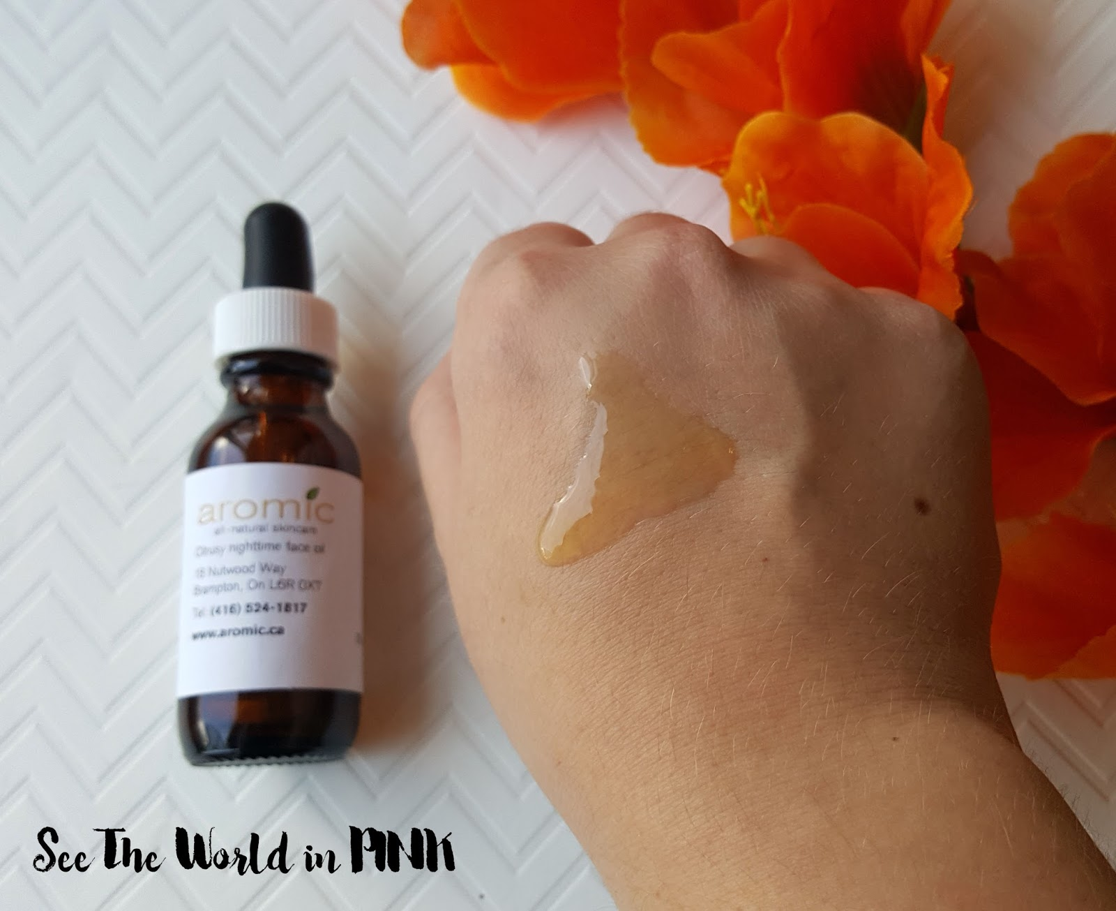 Skincare Sunday - Aromic Citrusy Nighttime Face Oil