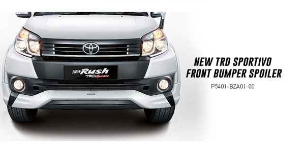 accessories new toyota rush surabaya