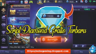 Download Script Diamond Gratis Patch Faramis Mobile Legends (70000 Diamond)