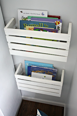 diy book organization