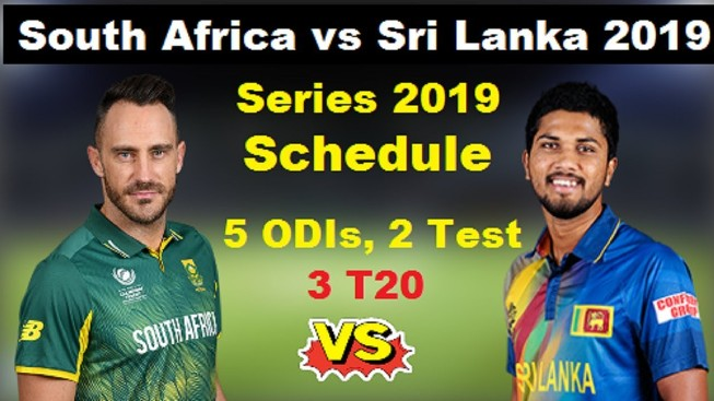 Sri Lanka tour of South Africa 2019 Schedule, Squads |  SA vs SL 2019 Team Captain and Players ESPNcricinfo, Cricbuzz, Wikipedia, South Africa vs Sri Lanka International Matches Time Table.