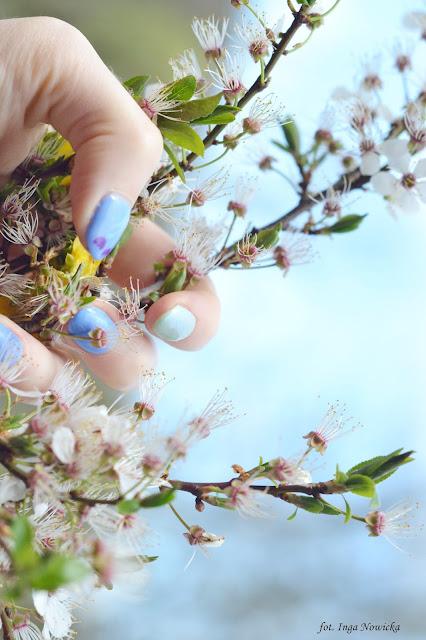 lakiery hybrydowe w wiosennych kolorach