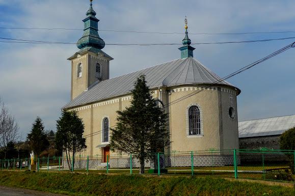 Горные сёла Закарпатья: Плоское. Свято-Покровская церковь