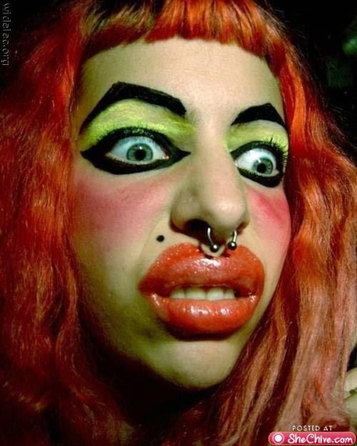 Makeup Fails Ugly Makeup: WORST MAKE UP EPIC FAIL FUNNY PHOTOS