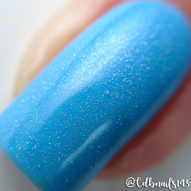 Bliss Polish-To Yacht For You with Holo Bliss Topper