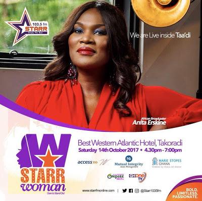 Starr Woman Project Hits Takoradi On October 14