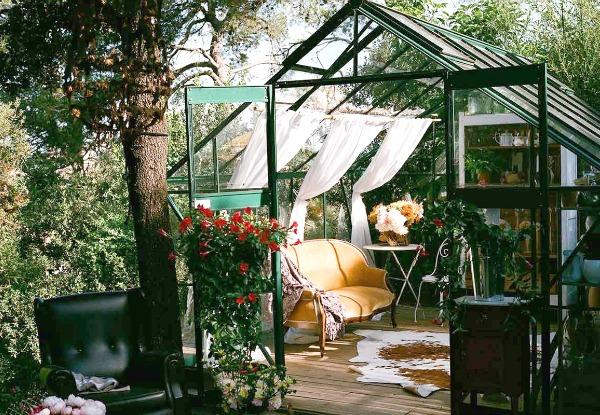 El invernadero de Manuela Sosa en Vallvidrera Barcelona