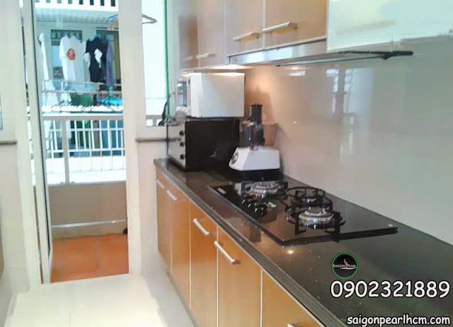Modern fitted kitchen with