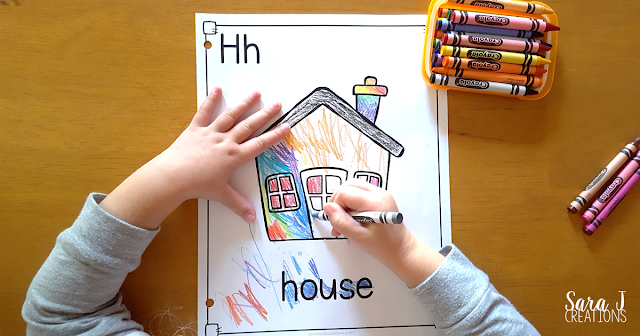 Letter H Activities that would be perfect for #preschool or #kindergarten. Art, fine motor, #literacy and #alphabet practice all rolled into Letter H fun.