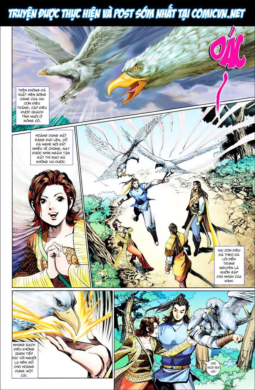 Anh Hùng Xạ Điêu anh hùng xạ đêu chap 38 trang 9