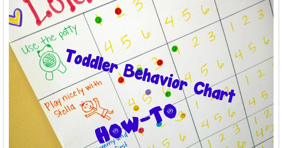 ToBeContinued How-Tomake a toddler behavior chart