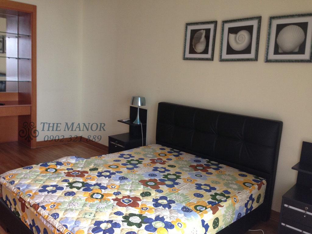 Căn hộ The Manor 100m2 cho thuê block AW tầng 24 full nội thất - hình 7