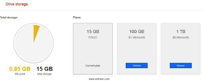 google drive plan to expand your storage
