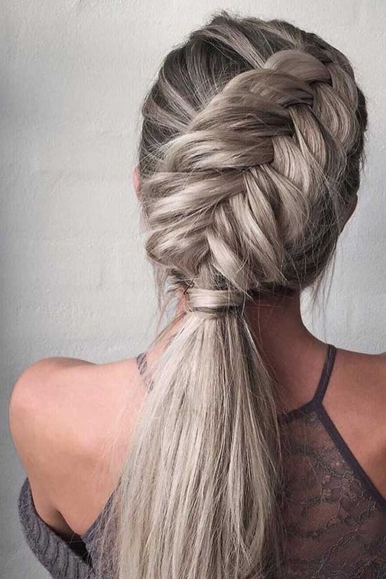 10 Ultra Pferdeschwanz Frisuren Für Langes Haar Frisuren Trend 123
