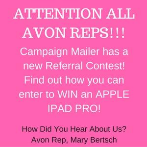 Avon Campaign Mailer Contest
