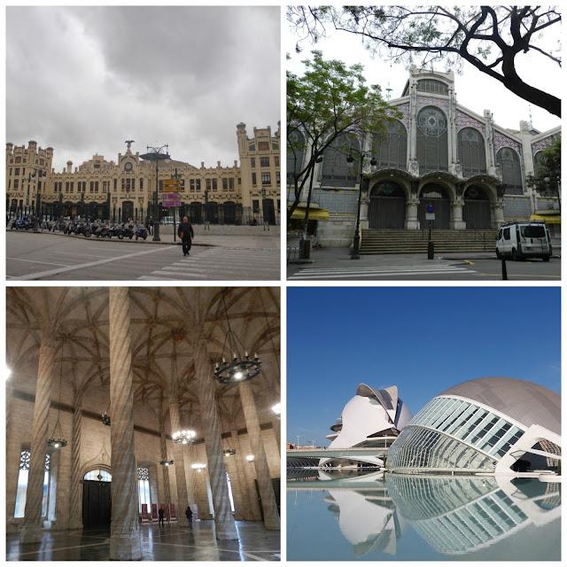 Valência - Estació del Nord, Mercat Central, Ciudad de las Artes y las Ciencias e Lonja de la Seda