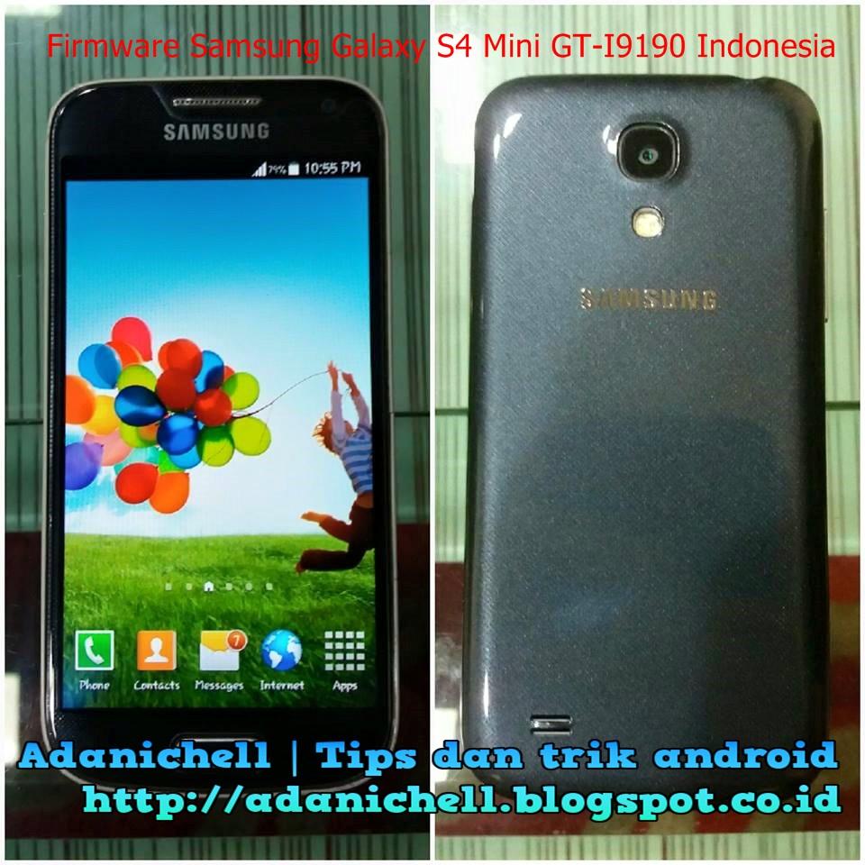 Download Galaxy S4 Mini GT-i9190 Stock ROM [I9190XXUCNJ3]