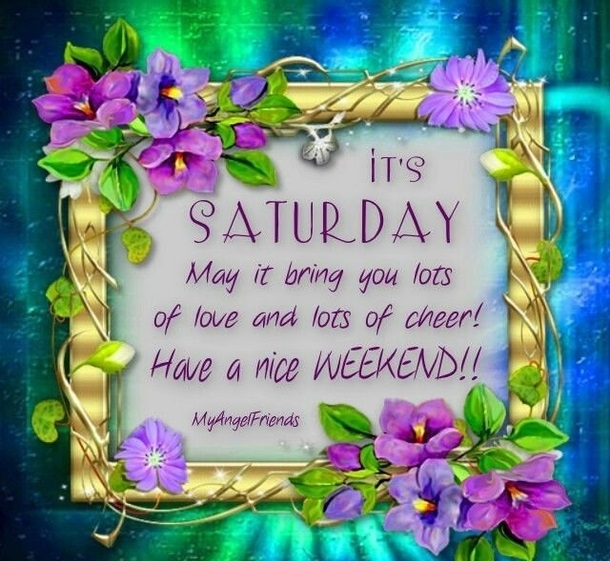 Good morning saturday messages