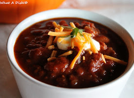 Basic Chili (added 1 cup pumpkin puree)