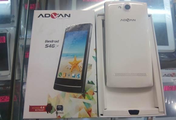 Smartphone Advan S4G