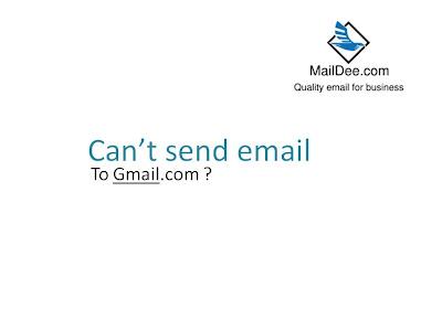 ทำไมคุณถึงส่ง Email เข้า Gmail ไม่ได้