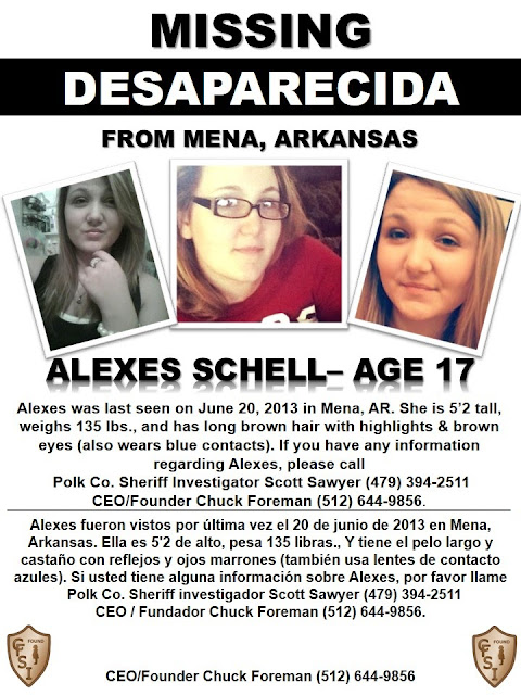 Missing 17 Year Old Girl Believed To Be In Eureka: Statement Analysis ®: Missing: Alexes Schell, 17