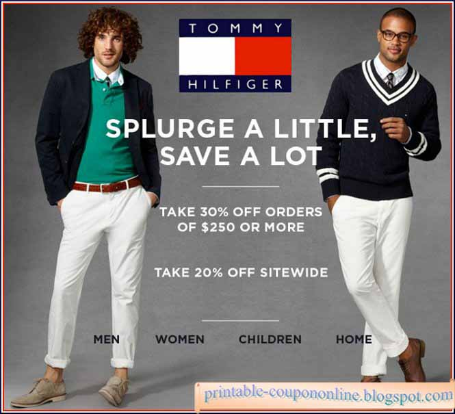 Tommy hilfiger coupons printable 2018